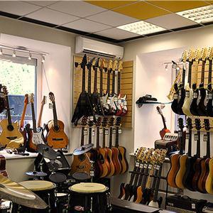 Музыкальные магазины Колы